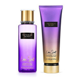 Splash Perfume Crema Victoria Secret 100% Original Combo