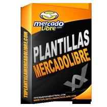 Plantillas Mercado Libre, 53 Nuevas 2016 Envío Gratis