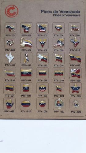 Pines Motivos De Venezuela  1era Calidad