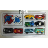 Set 10 Carritos A Friccion Cars 3 Rayo Mcqueen Matte Juguete