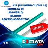 Cilindro Y Cuchilla Konica Minolta Di251 / Bizhub200/350