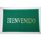 Alfombra Binvenido De Goma (a45)