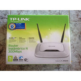 Router  Inalámbrico Tp-link 300 Mbps Wifi 2 Antenas