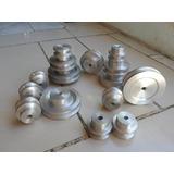 Poleas De Aluminio 2 Hasta 20 Pulgadas Para Molinos Y Motore