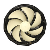Fan Cooler Ventilador Cpu Procesador Gaming Led Rgb 3 Pin