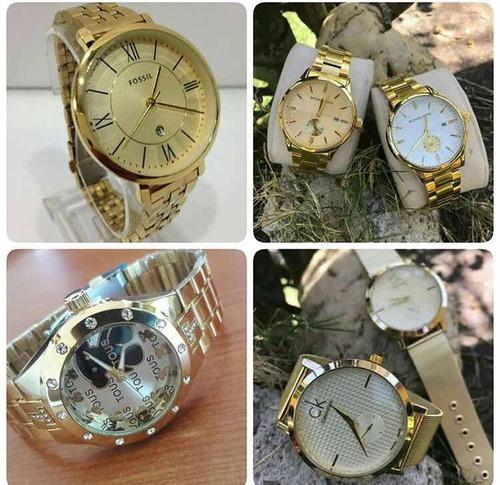 5305b10ebde9 Reloj Guess Fossil Mk Dorado De Acero Para Dama - 7500 en Melinterest