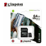 Memoria Micro Sd Kingston 64gb Clas 10 Original Tiend Chacao