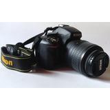 Cámara Réflex Nikon D5100.