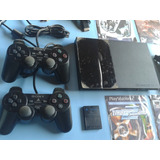 Play Station 2, Sony Ps2, Con Todos Sus Accesorios, Chipeado