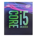 Procesador Intel Core I5-9600k Coffee Lake 6-core 3.7 Ghz