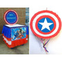Piñatas Los Avengers, Caja Regalos, Centros Mesa Y Cotillon