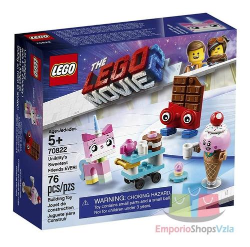 Lego Movie 2 Unikitty Sweetest Friends Incluye 76 Piezas