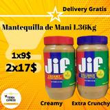 Mantequilla De Maní Jif 1.36 Kg Nutella 950gr Oreos