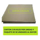 Carton Cartón 2 En Kilo O Para Piñata