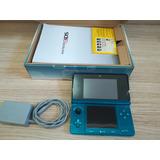 Nintendo Ds 3d Con Juegos, R4  Y Estuche