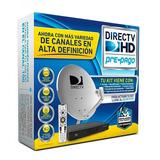 Kit Completo De Directv Decodificador Hd Pre Pago