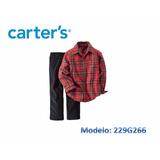 Set De Carters Camisas Varones  100% Original Usa (15 Green)