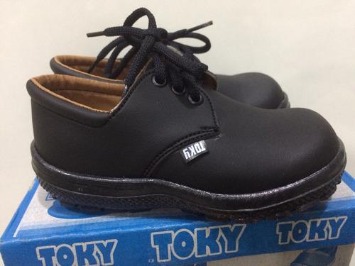 b1ad8561 Zapatos Toky Para Niños Talla 23 Escolar Colegial