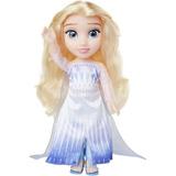 Muñeca Elsa Baby Frozen 2 Disney Con Accesorios 14 Pulgadas