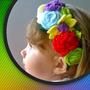 Cintillos Y Tocados Para Niñas De Flores