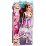 Barbie Original Mattel Princesas Hora Del Te. 15 Verdes 2019