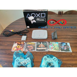 Playstation 1 + Chip + 2 Controles + Juegos + Mem Garantia