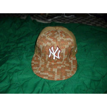 Gorra Color Crema, New Era De Los Yankees De Nueva York