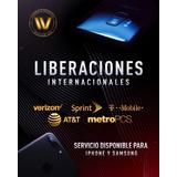 Liberaciones iPhone & Samsung Operadoras Internacionales