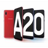 Samsung A20+32gb+forro+vidrio+garantia (160) ( L E E R )