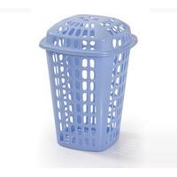 Alfa Cesta Cuadrada Plastica Para Ropa Tapa Removible Envios