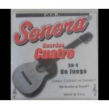 Cuerdas De Cuatro Y Guitarra