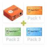 Sigma Box Full Pack 1 Pack 2 Y 3 + Set De Cables