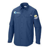 Camisas Típo Columbia + Uniformes + Bordados + Todos Colores
