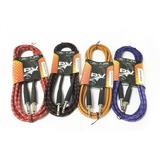 Cable De Instrumentos Guitarra Bajo 1/4 Mono 3m Color Peavey