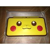 Nintendo 2ds Xl Nuevo En Caja Colección Pikachu Pokemon 220v