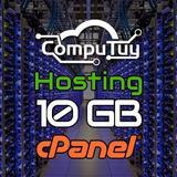 Web Hosting Y Dominio (.ve),  Cpanel - 10gb De Espacio 1 Año