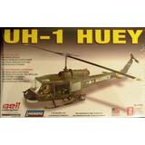 Helicoptero Uh-1huy Gunship Marca Lindberg Escala 1/43