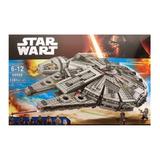 Star Wars Nave Compatible Lego Halcon Milenario 1381 Piezas