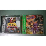 Crash Team Racing & Spyro Year Of The Dragon Orignal Ps1