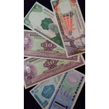 Set De 6 Billetes Venezolanos Antiguos. Sin Circular