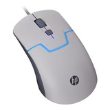 Mouse Usb Hp Gamer Luces Optico De Cable 1600 Dpi 4 Botones