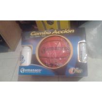 Balon De Basket Tamanaco Kit +culer+bomba+aguja Oferta