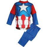 Pijama De Capitán América