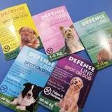 Pipetas Defense Line Garrapaticidas Para Perros Y Gatos