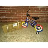 Bicicletas Bmx Rin 12 (oferta 40v)