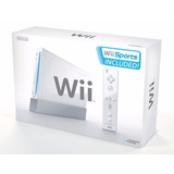 Nintendo Wii   Caja Control & Nunchuk 100% Original + Juego