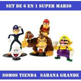 Figuras De Super Mario Bros 6 En 1 Somos Tienda
