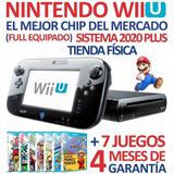 Excelente Consola Nintendo Wiiu+chip 2020+7 Sorpresas (140v)