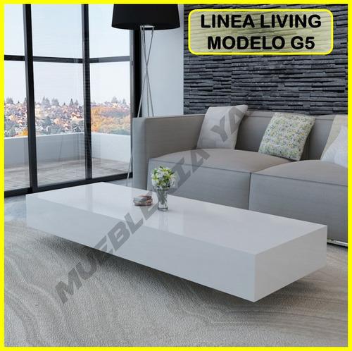 Mesa Centro Moderna Juego Mueble Sala Comedor Sofa Recibo G5 ...