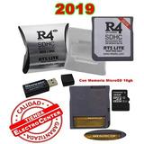 R4 Memoria 16gb 3ds Dsi Ds Lite 2019 Nintendo Tienda Física